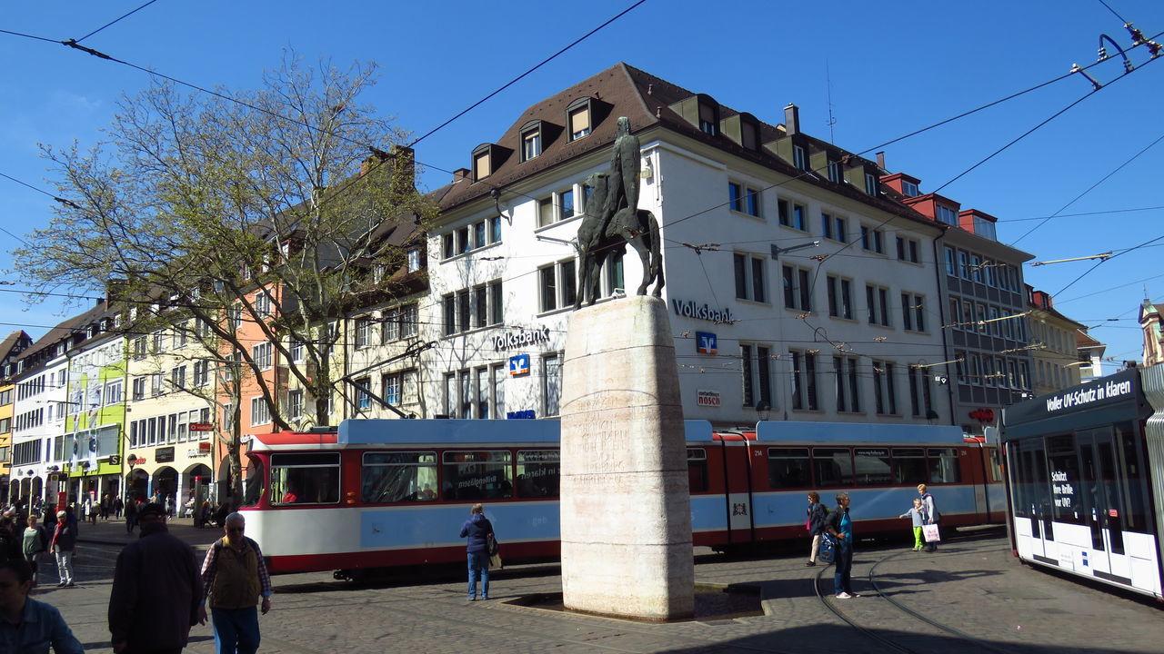 Bertoldsbrunnen - Stadtmitte Freiburgs