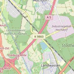 Freiburg Karte Stadtteile.Stadtteil Stühlinger Freiburg